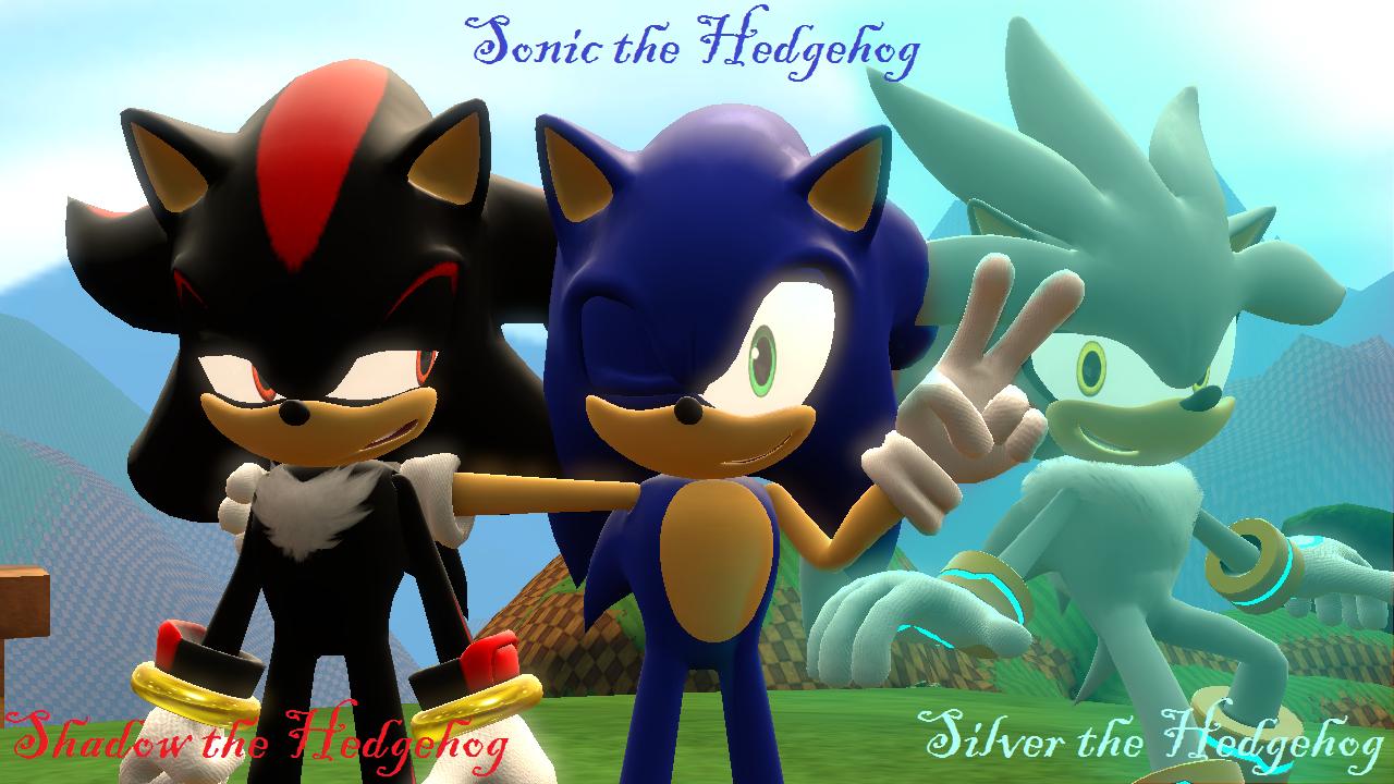 Sonic Shadow And Silver Sfm By Alexalynnmlp By Alexalynnmlp On Deviantart