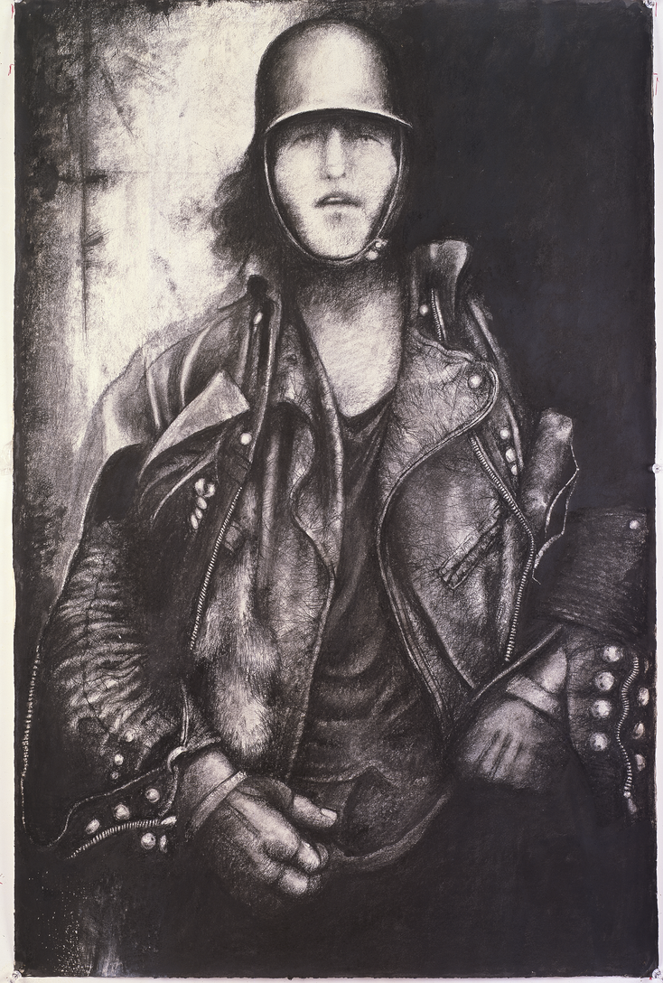 Early 60s Biker by Rob...