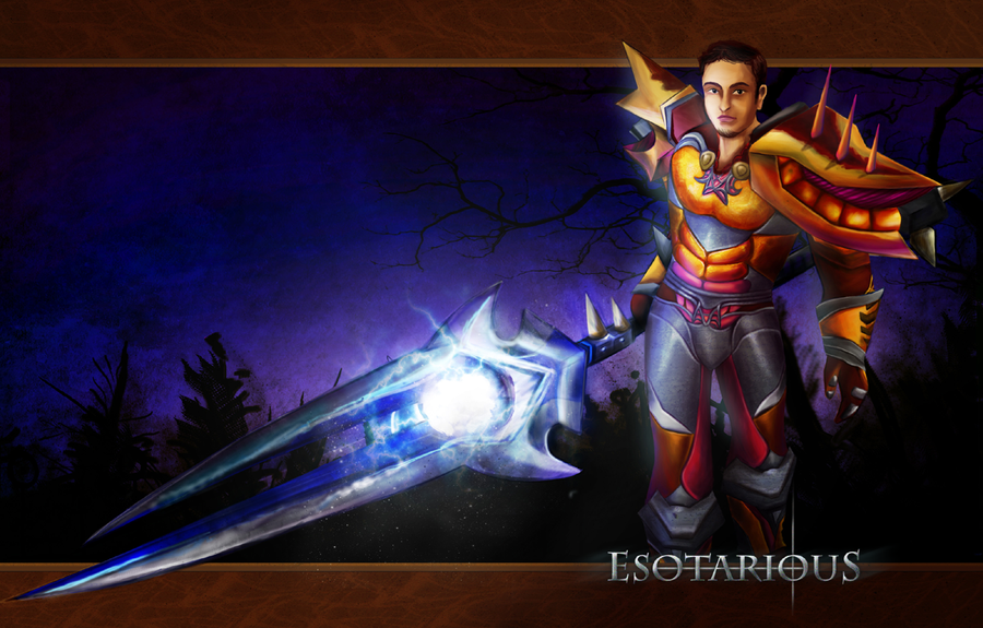 Esotarious of Argent Dawn by blastedgoose
