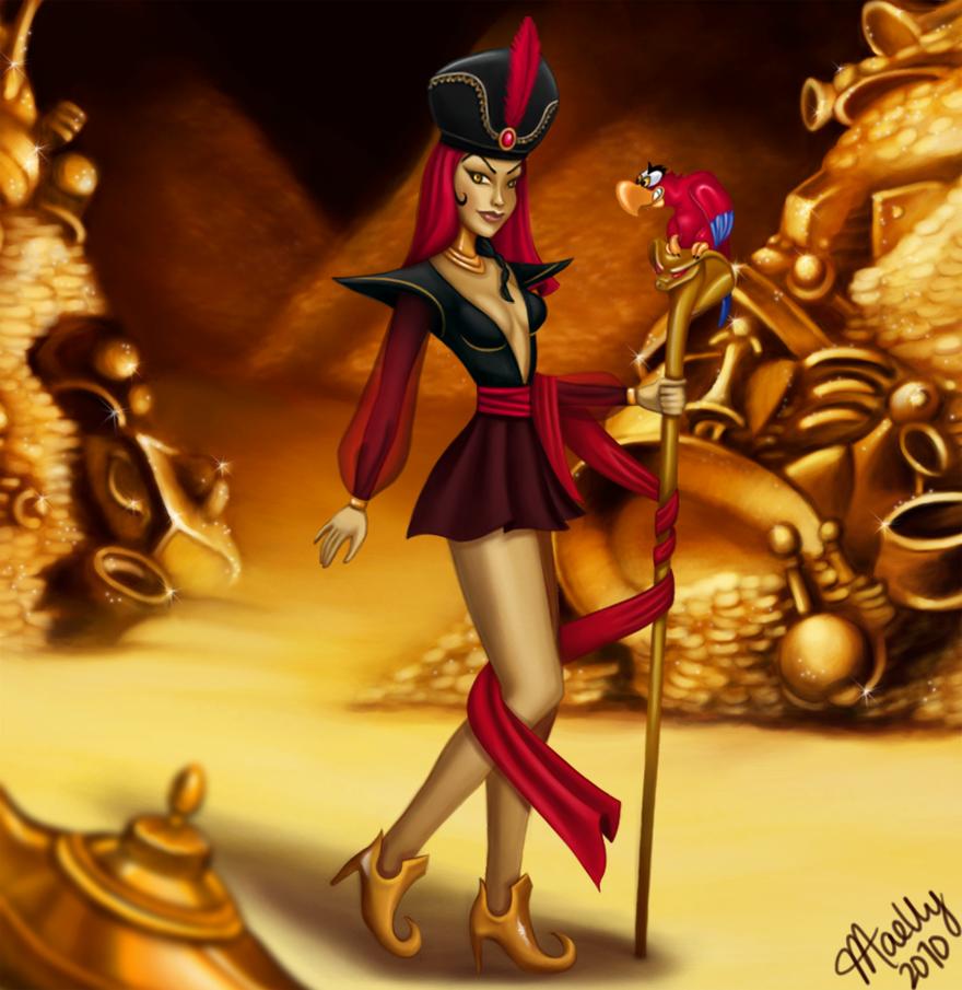 L'image qui roxe du saucisson Disney_Villainettes___Jafar_by_blastedgoose