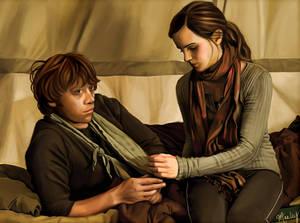 Ron x Hermione, DH