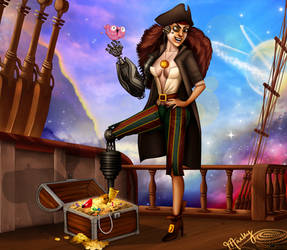 Disney Villainettes - John Silver