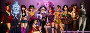 Facebook Timeline Cover - Disney Villainettes