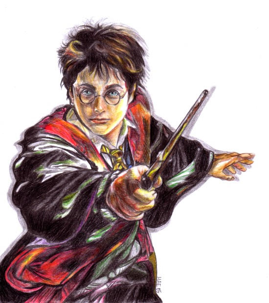 harry colored by blastedgoose