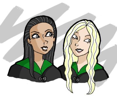 black sisters by blastedgoose