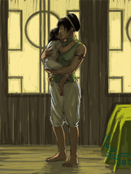 Momma Toph by characterundefined