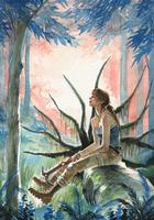 Lara Croft - Repose by characterundefined