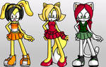 Totally Spies Sonic Style