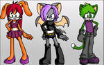 Teen Titans - Sonic Style?