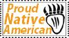 Native American Stamp by LCNeko-tan
