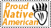 Native American Stamp by LC-TV