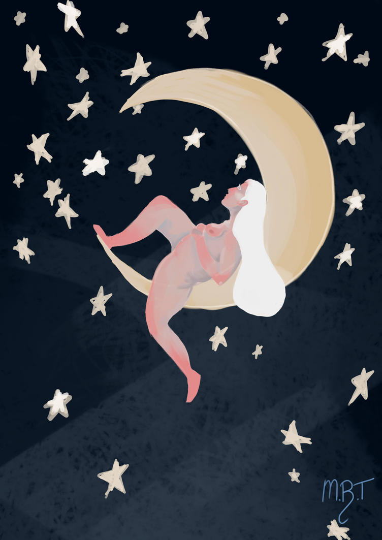 The Moon Lady by MeganRoseThomas