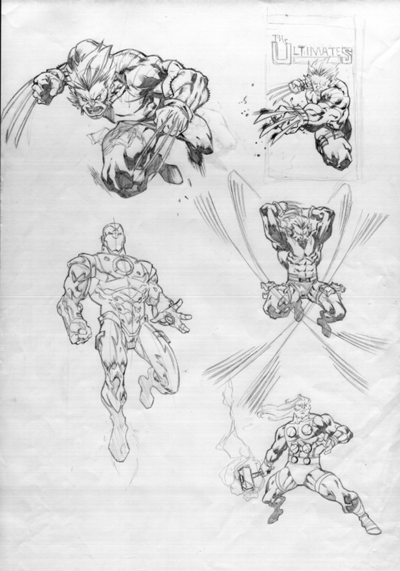 ultimate sketches by bobbett