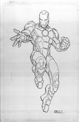 Iron Man by bobbett