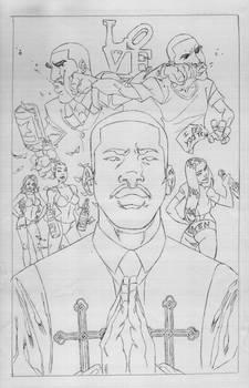 Chris Brown Drake n Meek Millz AMEN sketch