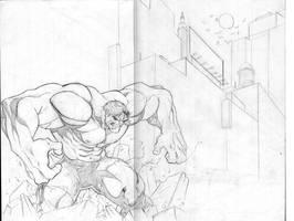 Hulk smash by bobbett
