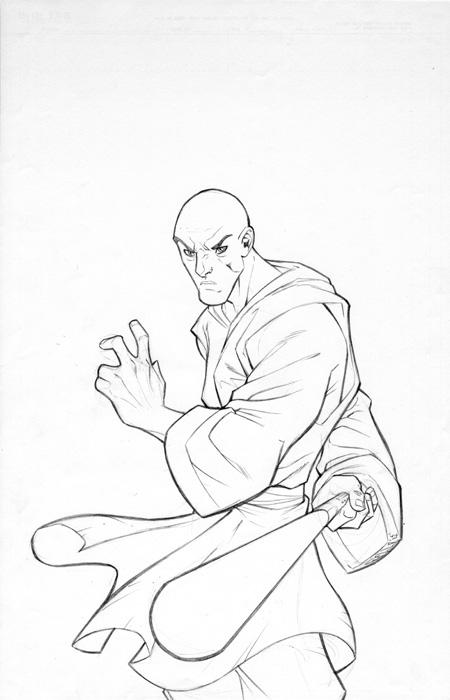 Mace Windu coloring page  Free Printable Coloring Pages