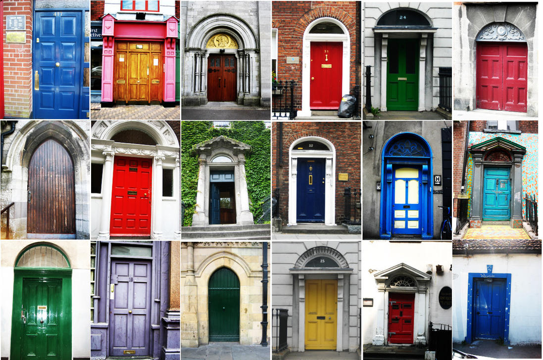 Doors In Dublin By Enspire On Deviantart