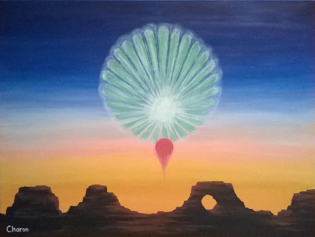 Planetary Plasma Instability by Saiph-Charon