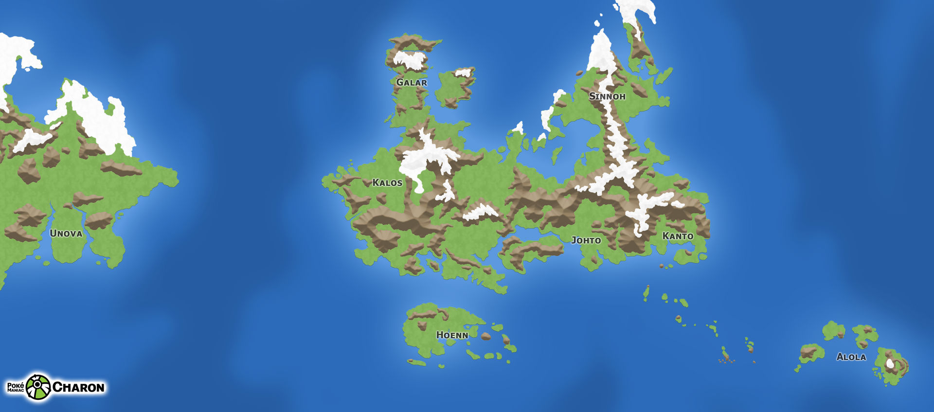 My Pokemon Worldmap by PokeManiacCharon on DeviantArt
