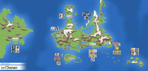 My Pokemon Worldmap