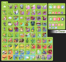 Charon's Fanmade PKMN Types - Bug Revised