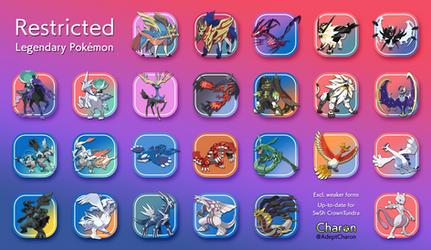Restricted Legendary Pokemon - SwShCT