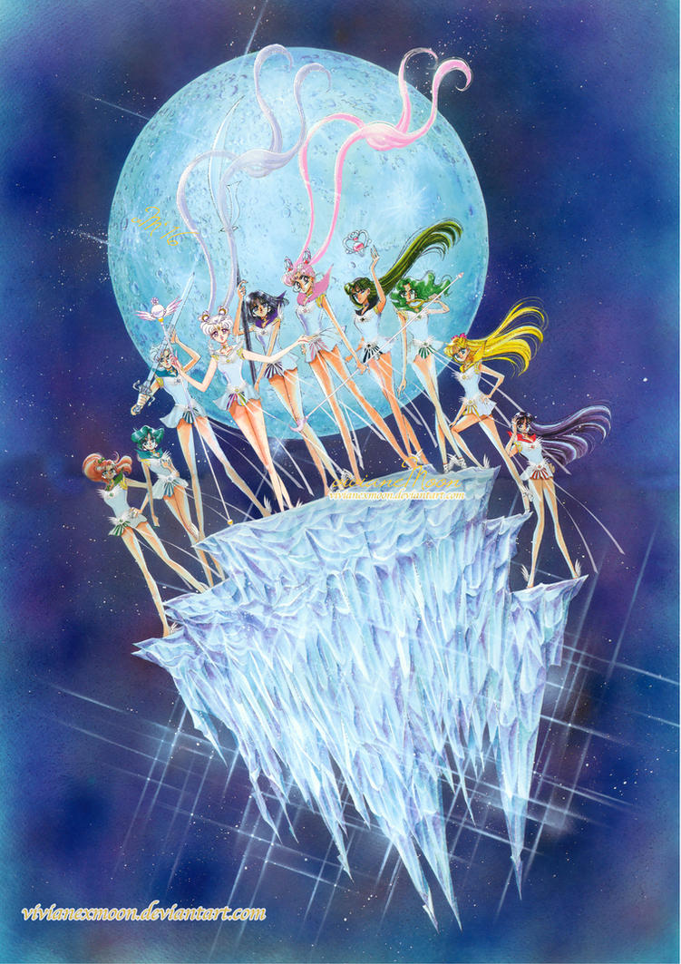 Cosmic Senshi (Cosmos Arc Artbook) by OhtoriArt