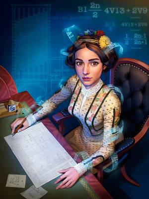 Ada Lovelace by GeorgeD