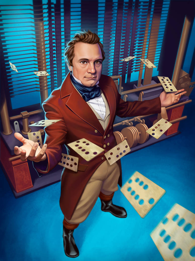 Charles Babbage by GeorgeD