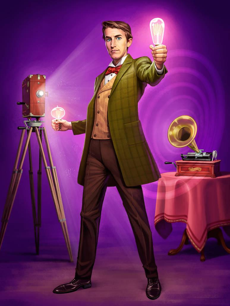 Thomas Edison by GeorgeD