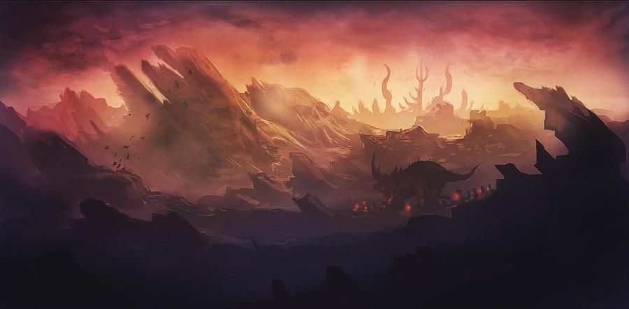 deadlands by BobKehl