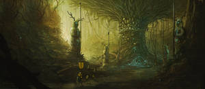 Emissary to the Oak by BobKehl