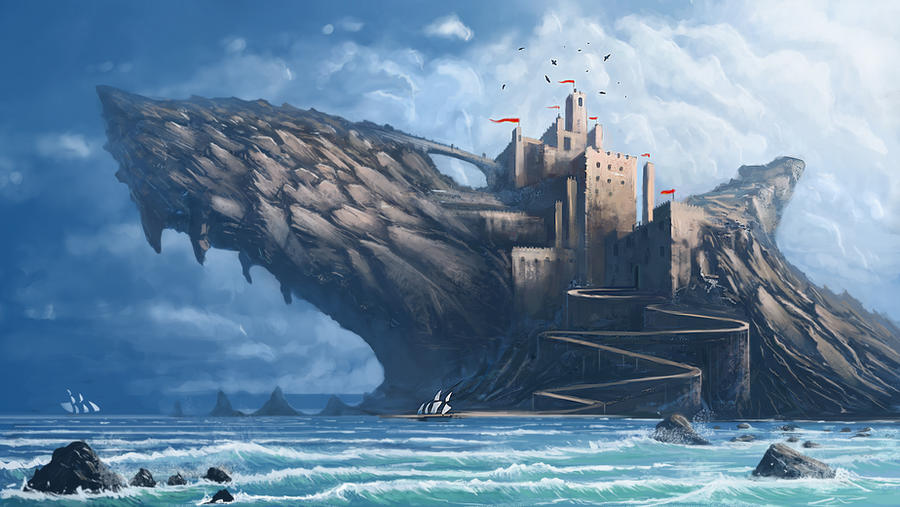 Shark castle Rock
