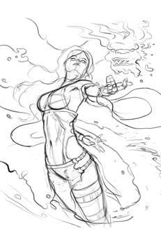 hydro witch sketch WIP