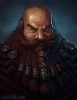 Dwarven senator by BobKehl