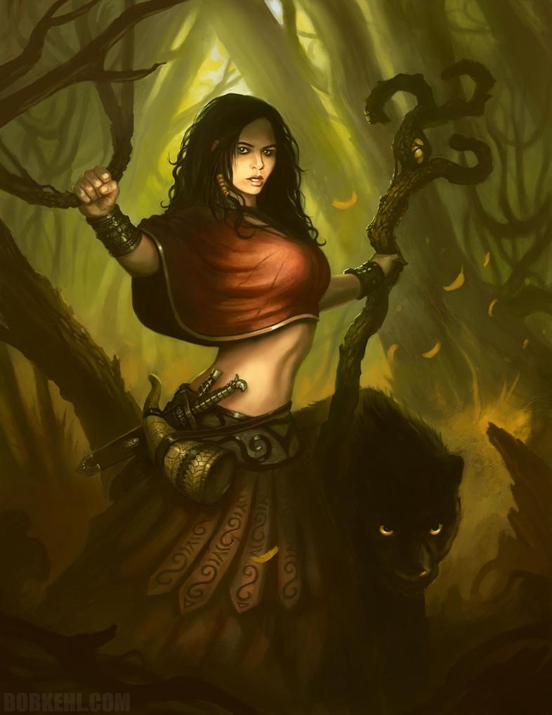 Druid by BobKehl