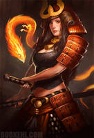 Infernal Samurai by BobKehl
