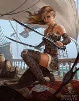 Pyrate Blade Master by BobKehl