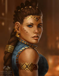 Dwarven Princess by BobKehl