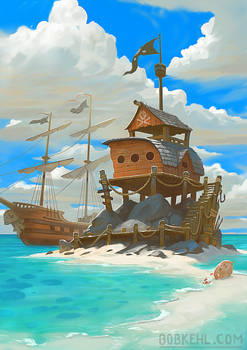 Pirate Oasis