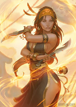 Pirate Fire Dancer