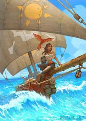 Rum Runners of the Ocean Blue!
