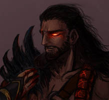LOL - Demonblade Tryndamere by Sim-Song