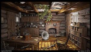 Loghouse - Main room
