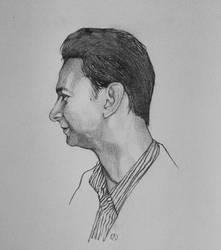 Dave Gahan 2017 sketch by MOTORCYCLEGIRL