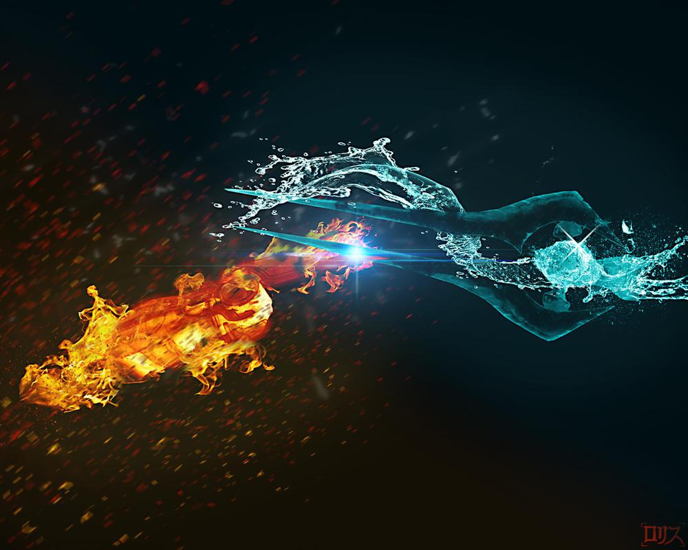 Omniblade vs Plasma sword by Rorisu