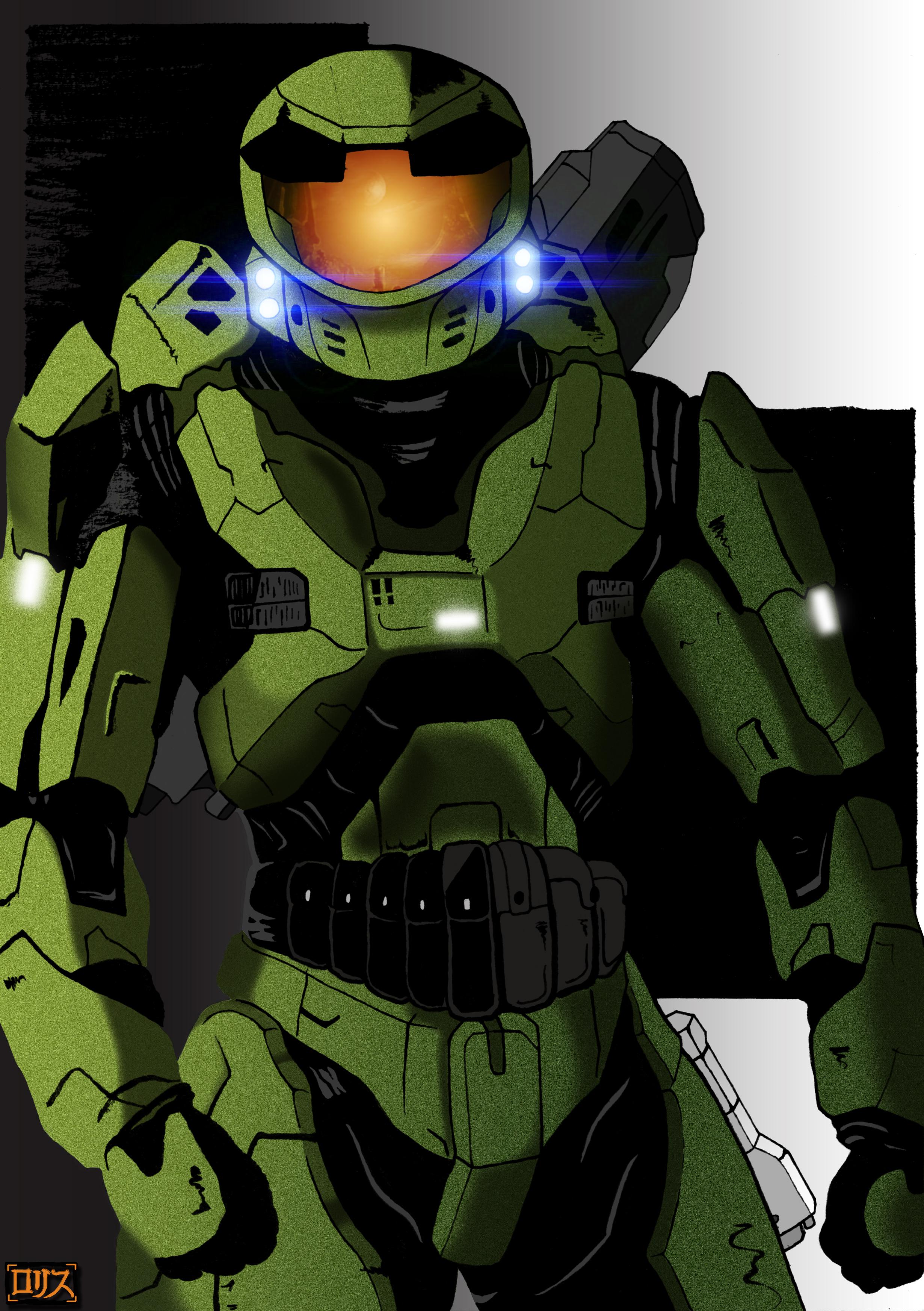 Spartan II MJOLNIR mk V by Rorisu