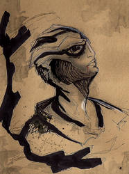 Thane Krios by TuftTail