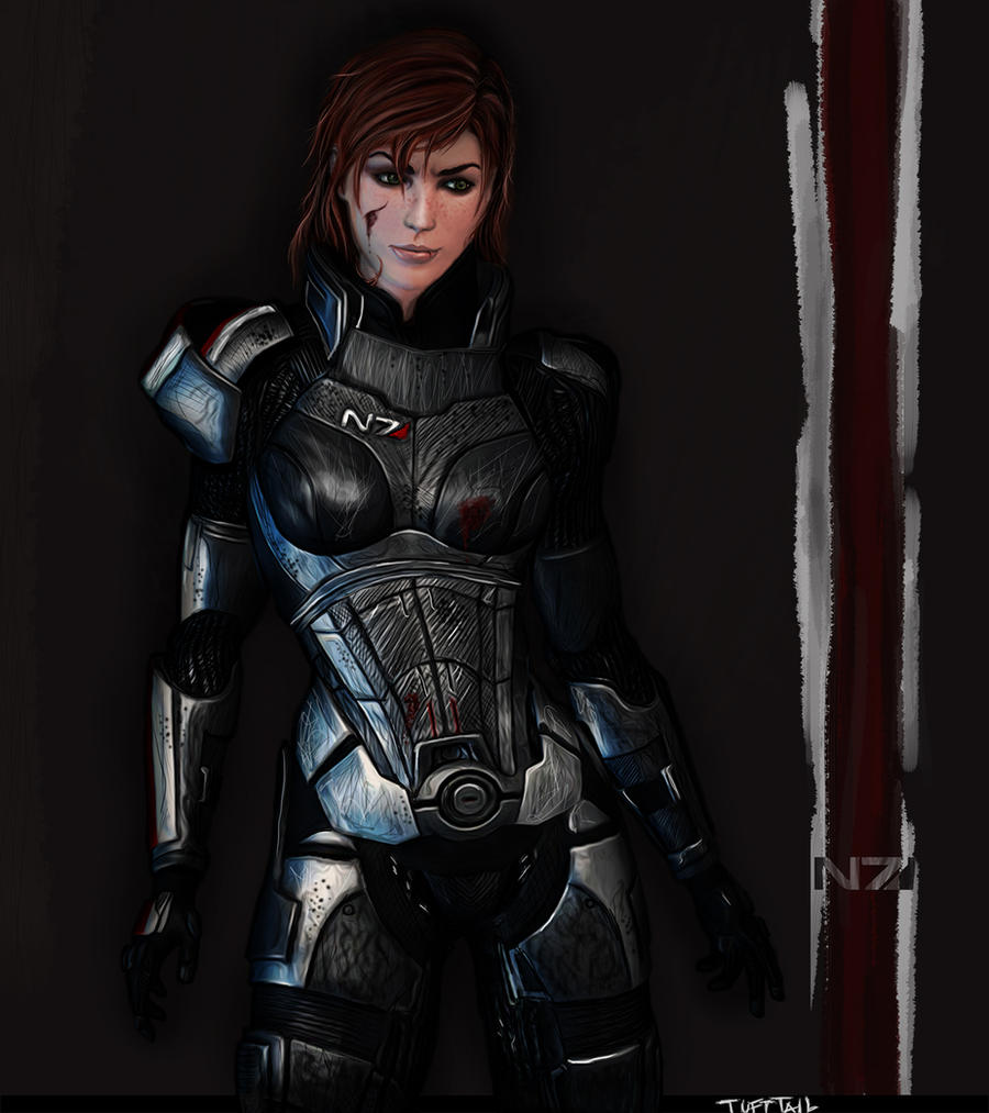 Commander Shepard by TuftTail